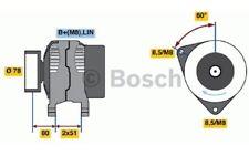 BOSCH Alternador FORD MONDEO GALAXY S-MAX 0 986 048 380