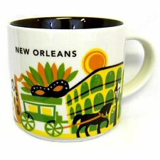 Starbucks New Orleans Ceramic Coffee Mug You Are Here Series Cup Cute Gift NEW