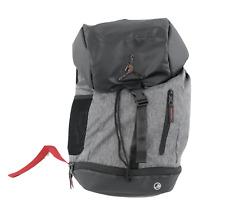 Nike Air Jordan Jumpman Logo Top Loader Backpack Book Bag Carry On Shoe Holder