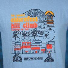 Nos vintage 80s Killian'S Irish Red Beer Eldora Hill Climb Sunset T-Shirt M thin