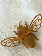 Biene aus Edelrost Garten Dekoration Rost Deko Eyecatcher im Garten