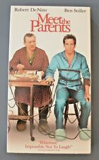 """Meet The Parents"" Robert De Niro, Ben Stiller VHS Movie Video Tape Comedy PG13"