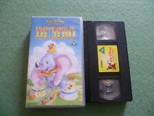 DUMBO WALT DISNEY CLASSICS VHS