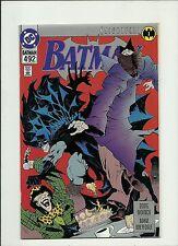 BATMAN #492  1990 DC COMICS KNIGHTFALL PART 1  MADHATTER PLATINUM INCENTVE  NM-