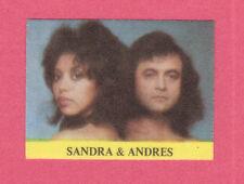 Sandra & Andres 1970s Pop Rock Music Cloth Sticker