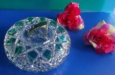 Glasschale mit Deckel extravagant ,schön verarbeitet