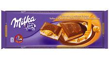 Tablette de 300 gr Milka caramel et noisettes entières, livré neuf emballé
