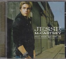 JESSE MCCARTNEY - right where you want me CD