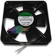 New! 110 115 Volt AC Fan 120mm x 25mm Metal Frame Sunon SP101AT 1122HBL.GN