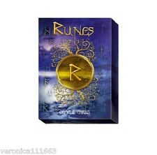 Rune Oracle Set NEW Sealed 24 Cards 160 pg book Norse Gods B. Luna C. Musio