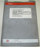 Werkstatthandbuch Audi A8 D2 4D Quattro 5 Gang Schaltgetriebe Allradantrieb 1994