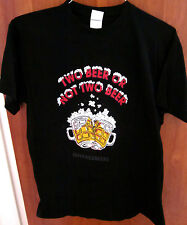 WILLIAM SHAKESPEARE tee frosted mugs T shirt medium beer quote parody Bard ale