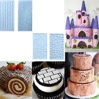 2pcs Texture Silicone Lace Mold Fondant Cake Mold Chocolate Cake Decorating Tool