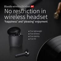Bluedio Hi wireless bluetooth earphone for phone stereo sport earbuds headset ~~