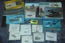 Lot d accessoires rails 7002 tampons boites MARKLIN + 2 catalogues 1950 & 1966