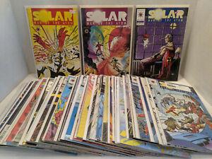 Lot Of 45 Solar Man Of The Atom Valiant Comics 1992-96