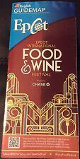 09/2015 Walt Disney World Epcot food And Wine Festival Guide Map Brochure
