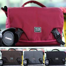 Women's Waterproof DSLR SLR Camera Shoulder Bag Messenger Bag Daypack Travel Bag