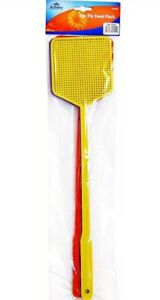 Pack of 3 Fly Swatters swat bug mosquito wasp swatter long handle