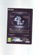 Baron Wittard: Nemesis von Ragnarök - 2011 Mystery Adventure PC Spiel KOMPLETT VGC