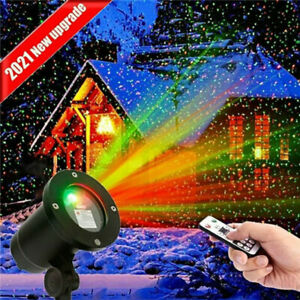 Outdoor Remote Control LED Stars Laser Light Projector Lamp Christmas Decoration