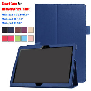 Shell Smart Case Tablet Cover Funda For Huawei MediaPad M5 8.4/10.8 T3 T5 10