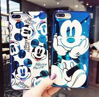 Disney Mickey Mouse Case for Apple iPhone 11 Pro Xs Max X XR 8 7 6 Blu Ray Cover