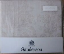 SANDERSON ONE Oxford Pillowcase New RIVERSIDE DAMASK LINEN