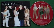 Liberty X Just A Little CD1 V2 Label VVR501896 3 2002 CD Single