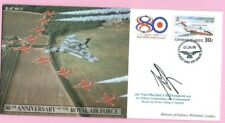 CAYMAN Is. - RAF 80(3) - 1998 FLOWN & Signed FDC - 80th ANN.  ROYAL AIR FORCE