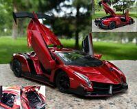 1:24 Lamborghini VENENO Super Car Diecast Alloy Model Toy Vehicle Collectible