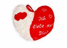 Herzkissen Ich Liebe nur Dich zum Valentinstag