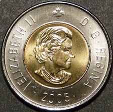 BU UNC Canada 2005 Toonie $2 Dollar Coin