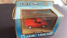 "ERTL - "" 61 FERRARI SWB  DIECAST - RED-  CLASSIC CAR  1/43  SCALE # 2853- BOXED"