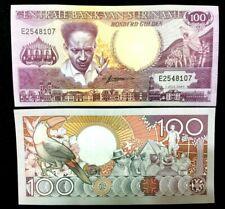Suriname 100 Gulden Banknote World Paper Money UNC Currency Bill Note