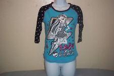 Monster High Totally Voltage Lightning Bolts T-Shirt Longsleeve Youth Girl 14/16