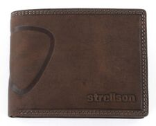Strellson Purse Baker Street Billfold H7 Dark Brown