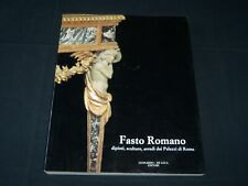 1991 FASTO ROMANO DIPINTI SCULTURE ARREDI DAI PALAZZI BY ALVAR PALACIOS - D 333
