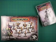 Escher Gang Box + Escher Weapons Set 2 Forge World Necromunda 11922