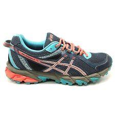 ASICS Gel-Sonoma 2 Women's Size 8 Trail Running Athletic Shoes Blue Teal Orange