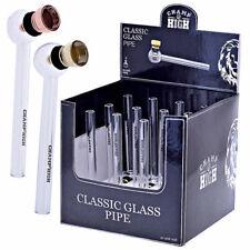 CHAMP Glas - Pfeife Classic ca.12cm, Hookah , classic glas Pipe,Mini Glas Pfeife