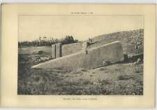1905 Baalbek, Great Stone In The Quarry