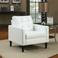 Stupendous Acme White Accent Chairs For Sale Ebay Theyellowbook Wood Chair Design Ideas Theyellowbookinfo