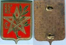 Tirailleurs -  35° Régiment tirailleurs algériens Centre instruction