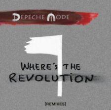 DEPECHE MODE WHERE'S THE REVOLUTION BRAND NEW 5-TRACK REMIXES