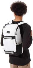 Vans Obstacle Skatepack White/Black Laptop Backpack SKATEBOARD SKATE WHITE