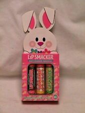 LIP SMACKERS - BOX OF 3 Easter/Spring Balm NUTTY BRITTLE Caramel Apple MINT HOP