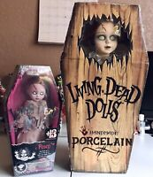 Double Posey!! Porcelain Posey And Posey,Living Dead Dolls. Lot Of 2 Horr Goth