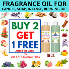 Fragrance Oil For Candle Soap Oil Burner Incense Stick Lotion Making 16 Oz. 1 Lb