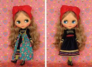 "Top Shop Exclusive Takara Neo Blythe Zyanya Remembers 12"" 1/6 Fashion Doll"
